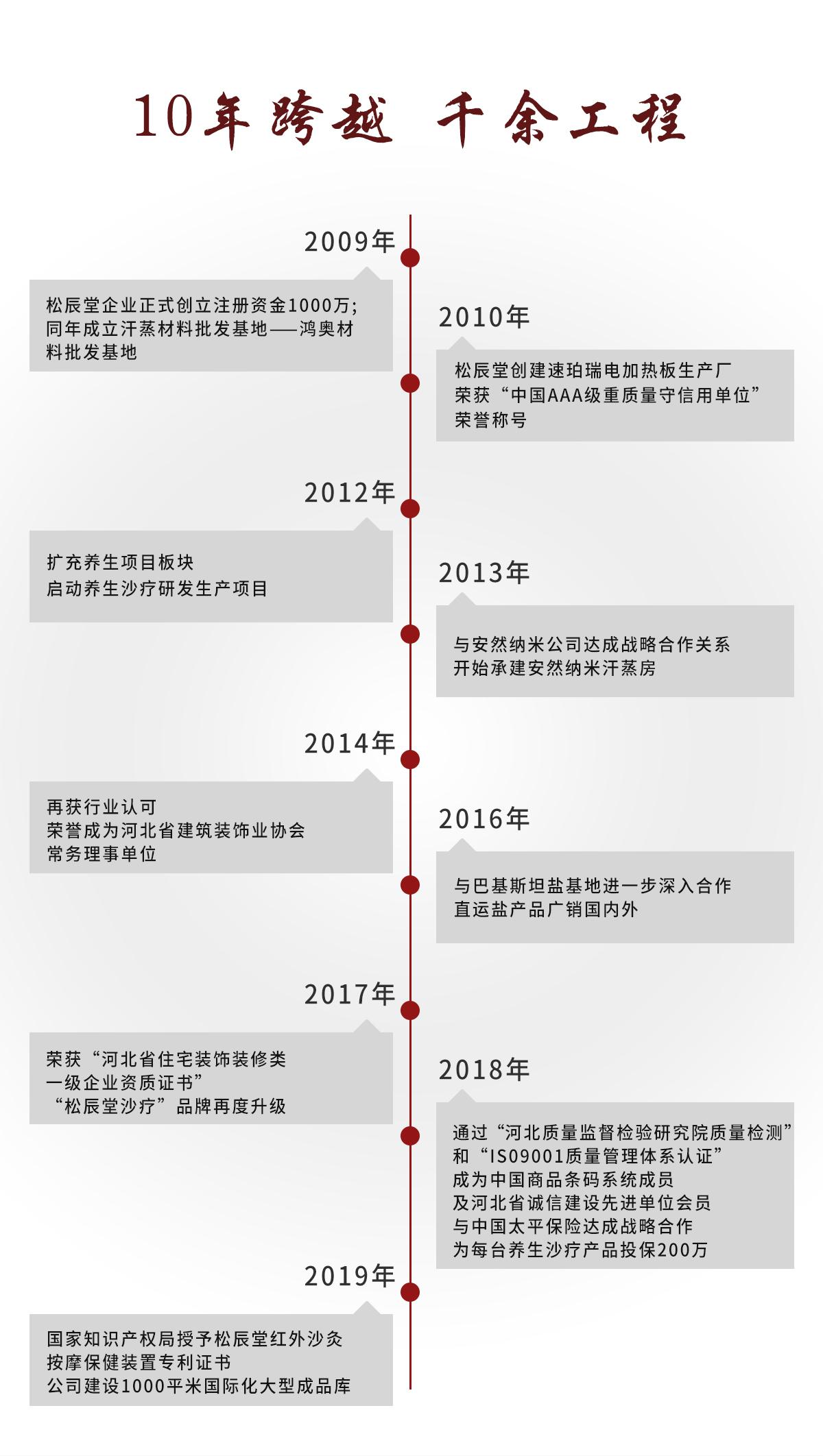 石家庄松辰堂科技河北有限公司发展历程